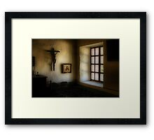 Light in a Monastery Framed Print