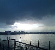Thunder and rain by fixxxer
