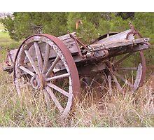 Wagon - Tintinara Homestead Photographic Print