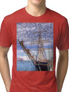 The Port of Fremantle WA - HDR Tri-blend T-Shirt