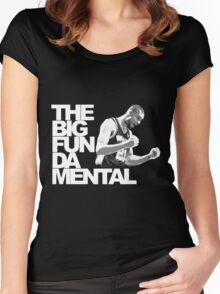 The Big Fun DA Mental Women's Fitted Scoop T-Shirt