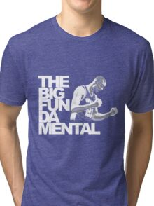 The Big Fun DA Mental Tri-blend T-Shirt