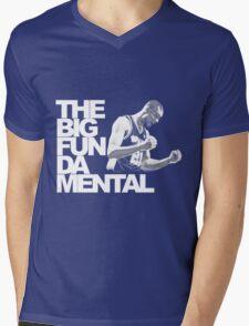 The Big Fun DA Mental Mens V-Neck T-Shirt