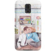 XFiles Mistletoe Smooches Samsung Galaxy Case/Skin