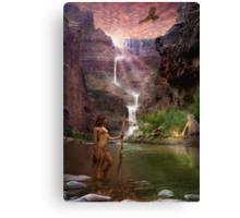 Hualapai Falls Canvas Print