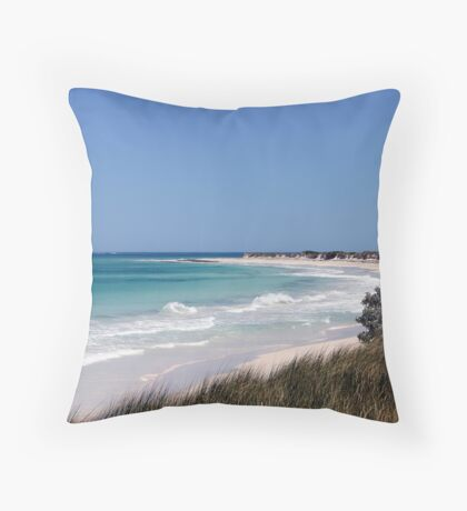 A Piece of Paradise Throw Pillow