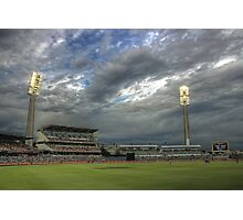 WACA Perth WA HDR - England Vs India ODI International  Photographic Print