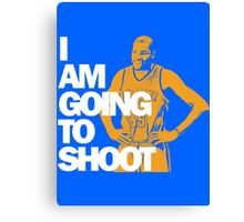 I am going to Shoot Canvas Print