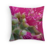 Bottle Brush Throw Pillow