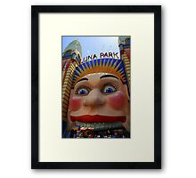 Smile for the camera... Framed Print