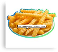 Sassy A$$ Fries Canvas Print
