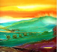 Golden Valley  by © Linda Callaghan