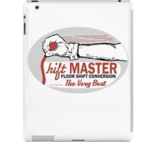 Shift Master iPad Case/Skin