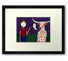 Meanwhile, back on the ranch... IV Framed Print