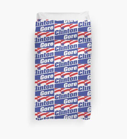 CLINTON/GORE 92-2 Duvet Cover