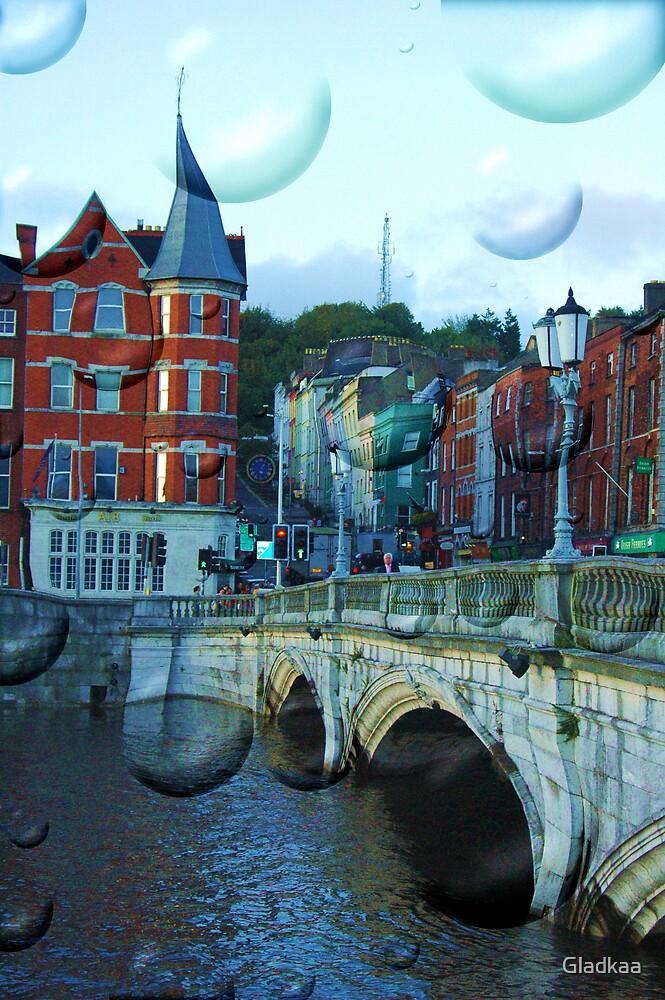 Magic Cork city, Ireland by Barbara Ignasiak