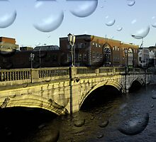 Irish city, Cork, Ireland by Barbara Ignasiak