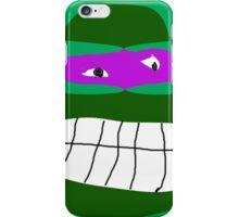 donatello tmnt iPhone Case/Skin