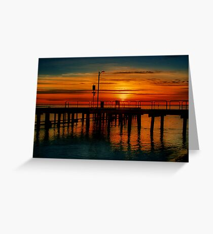 """""""Sunrise at the Heads"""" Greeting Card"""