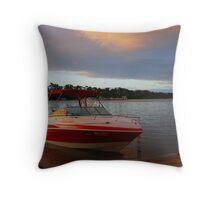 Dawn is Breaking - Mannum - South Australia Throw Pillow