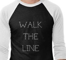 Walk The Line Men's Baseball ¾ T-Shirt