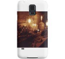 Fireplace Mantle by Candlelight Samsung Galaxy Case/Skin