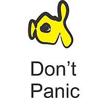 don't panic Photographic Print