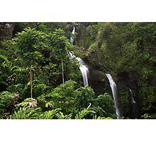 Waikani Falls Photographic Print