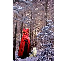 The Red Queen and the Fox  Photographic Print