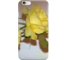 JUST YELLOW iPhone Case/Skin