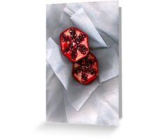 Pomegranate 2 Greeting Card
