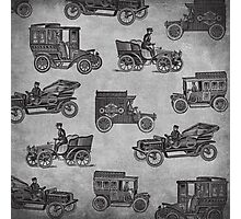 Collection of Vintage Cars Photographic Print