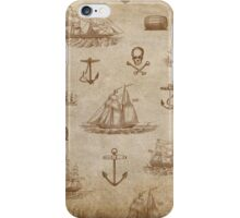 Vintage Expedition, A Collection of Ships iPhone Case/Skin