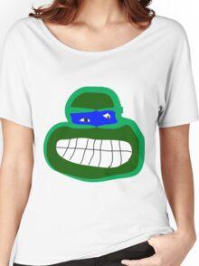 leonardo tmnt Women's Relaxed Fit T-Shirt