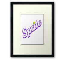 Codeine Sprite Framed Print
