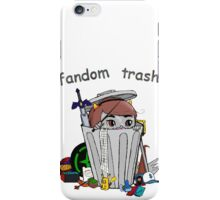 Fandom Trash Logo iPhone Case/Skin