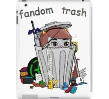Fandom Trash Logo iPad Case/Skin