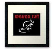 Mouse Rat Framed Print