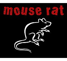 Mouse Rat Photographic Print