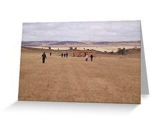 Mannum photo-shoot. Greeting Card