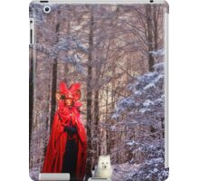 The Red Queen and the Fox  iPad Case/Skin