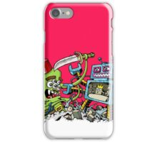 Monster vs Robot iPhone Case/Skin