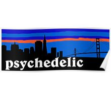 Psychedelic rock, San Francisco Skyline Poster