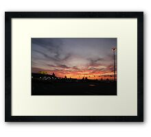 it`s closing time  Framed Print