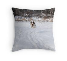 Here I come... Throw Pillow