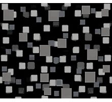 Gray Squares Photographic Print
