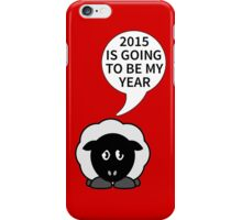 2015 The year of the sheep iPhone Case/Skin
