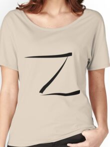 z for zorro or  Women's Relaxed Fit T-Shirt