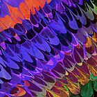 Marbled- Burst of Colour  by Georgie Sharp