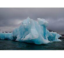Blue Iceberg Photographic Print